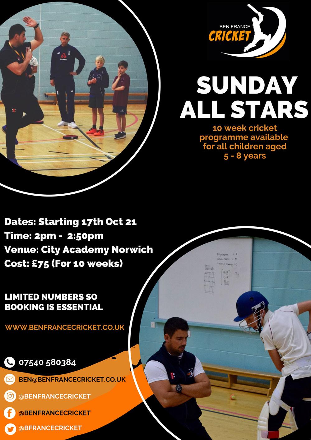 All-Stars-Cricket-Norwich
